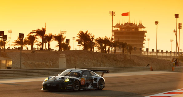 Porsche 911 RSR (88), Abu Dhabi Proton Racing: Khaled Al Qubaisi, David Heinemeier Hansson, Patrick Long