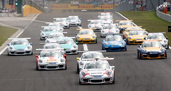 Porsche Mobil 1 Supercup - Budapest