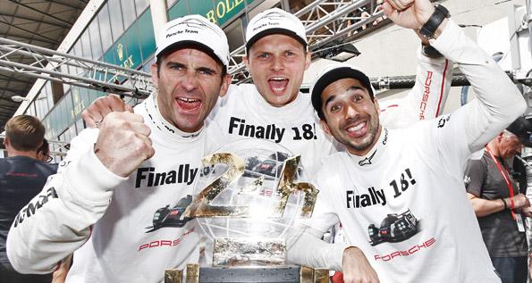 Porsche Team: Romain Dumas, Marc Lieb, Neel Jani