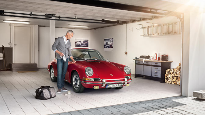 Porsche Classic Car Care Set