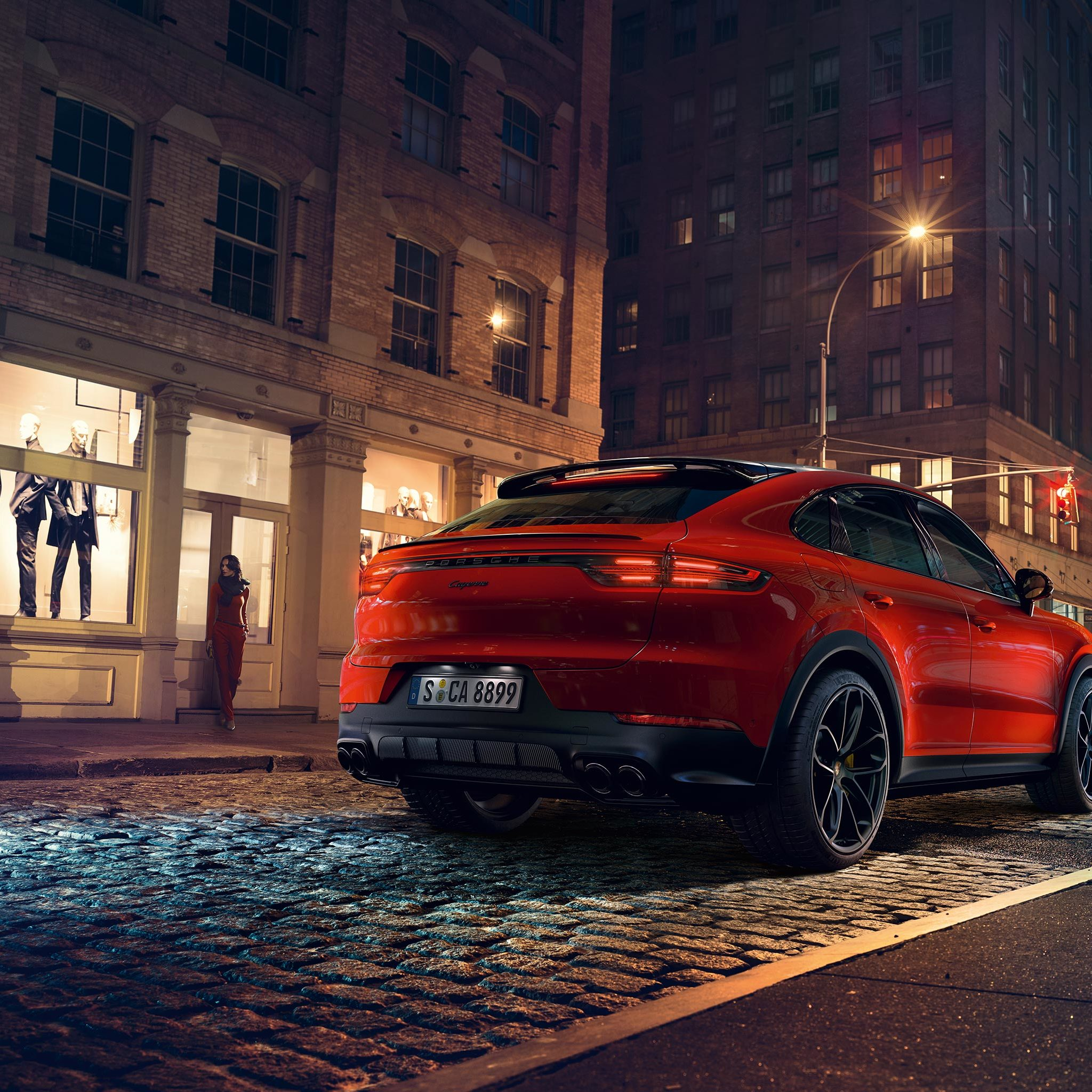 Porsche The New Cayenne Turbo Coupe